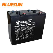 Bluesun batterie à gel à cycle profond 2V 1000Ah pour système solaire hybride de panneau solaire 350w 300kw