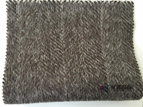 70% Alpaca 30% Wool Fabric For Winter Overcoat