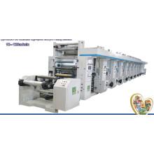 Máquina de impressão de alta velocidade do Rotogravure do computador