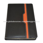 Hot sale leather book-bound notebook, OEM orders are welcome