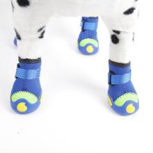 Heißer Verkauf Hund Stiefel Winter schützende Haustier Schuhe Booties wasserdichte Regen Spaziergang Hund Schuhe