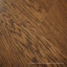 8mm Alemão Techology Light Brown Classic Carvalho Mão-Scraped Finish Flooring Floating Flooring