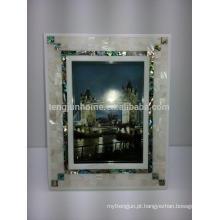 Home Decor River e Seashell Misturado Sexy Photo Frame