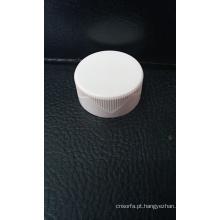 Branco e preto tampões de frasco de vidro