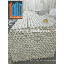 Toho hot sale Mullite material ceramic tubes in best quality