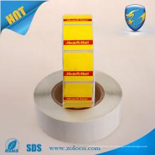 Etiqueta 8.2Mhz anti roubo rf, chip anti-roubo, etiqueta de etiqueta soft EAS RF