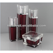30ml 50ml Luxury Square Airless Bottle Packaging Cosmétique