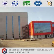 Edifício de Estrutura de Aço de Elevação Elevada