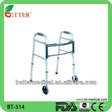 Walker Roller Drive Walker d'aluminium