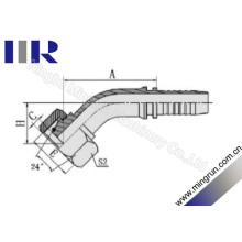 45 Grad Elow Metric Female Hydraulikschlauchverschraubung (20441)