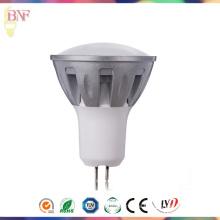 High Power LED Gu5.3 Druckguss Aluminium Scheinwerfer mit Tageslicht / Warmweiß