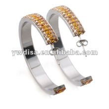 New Fashion Wholesale Beautiful Multicolor Stainless Steel Earring With Low Price