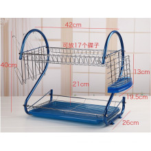 Colorful Metal Wire Kitchenware Dish Drainer