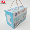 Snack display paper box packaging for children