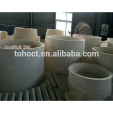 Grand anneau en céramique de rouleau de tuyau de bague de douille de zircone d'alumine avec la tolérance serrée