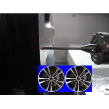 Wheel Rim Surface, Polishing Lathe