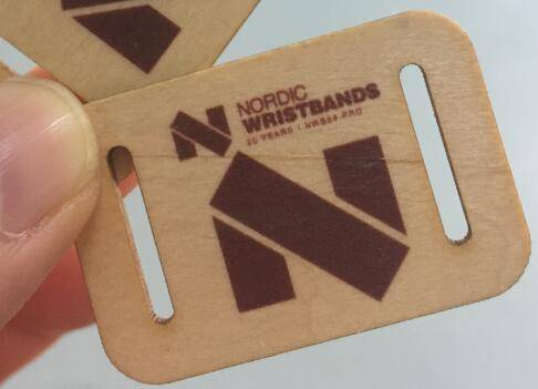 rfid wooden tag