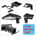 UL ETL DLC CER Shenzhen führte shoebox Lichthersteller 130lm / w shoebox helles Parkplatzlicht 100w