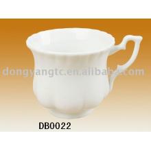 Copos de café de porcelana fina