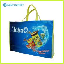 Promocionais Impressão Logotipo Completo Laminado PP Não Tecido Shopping Bag RGB-034