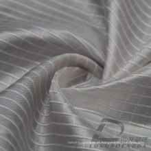 Water & Wind-Resistant Down Jacket Tecido Dobby Plaid Jacquard 100% poliéster Intertexture Taslan tecido (H051)
