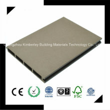 150 * 20 PE Impermeável China Laminado WPC Decking