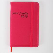 Cuaderno rojo con Logo