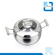 2016 New Design 304 18/8 Stainless Steel Stockpot High Quality Stock Pot