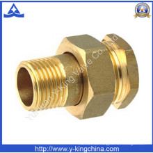 Hochwertige Messing Schlauchverbinder Rohrverschraubung (YD-6015)