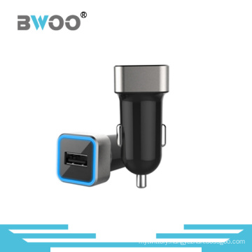 High Quality USB Cable Car Adapter Metal Aureole for Mobile Charger