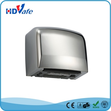 Hot Cool Air Optional Washroom High Speed Automatic Hand Dryer with 190mm Air Outlet