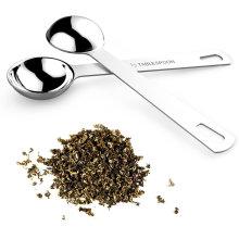 Cuillère à café à manches longues en acier inoxydable