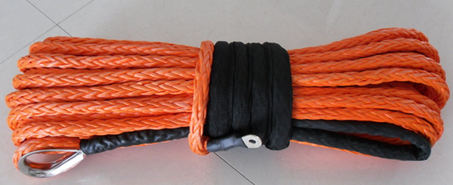 12 -strands UHMWPE winch rope