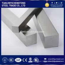 barre carrée en acier inoxydable / barre creuse en acier inoxydable / barre en acier inoxydable 304
