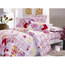 Cotton Pigment Printed Bedsheet Set /Duvet Cover Set