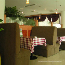 Neues Restaurant Stoff Sofa mit hoher Qualität