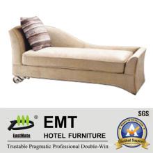 Sofá moderno de la reina de los muebles de la cuna Longue (EMT-LC04)