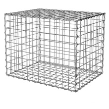 galvanized/pvc coated gabion basket/retaining wall stone basket/rock fall protection