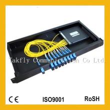 1310 8 canales Fibra óptica CWDM, MUX / DEDUX