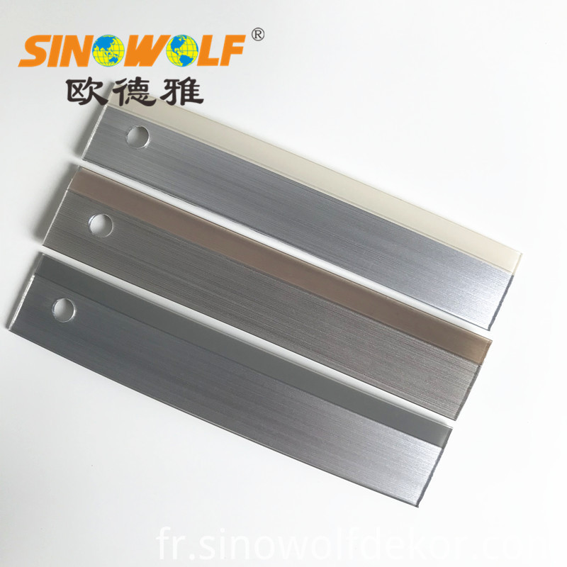 3d Bicolor Edge Banding For Furniture Accessory
