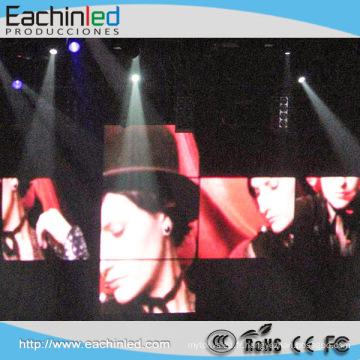 2014 Chine chaude produit HD grand P6 P3 intérieur scène vidéo mur pour le concert