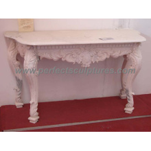 Garden Stone Marble Table for Antique Decoration (QTB037)