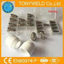Plasma Verbrauchsmaterial Panasonic Schneidbrenner p80 Schild Tasse