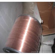 Kupferbeschichtete Schweißdraht für Spiralnägel