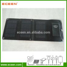 3,5W flexível com PET e carregador solar CIGS dobrável, carregador portátil de painel solar