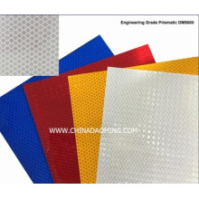 Customized for Prismatic Aluminium-Based Reflective Sheeting Daoming Engineering Grade Prismatic Reflective Sheeting supply to St. Pierre and Miquelon Exporter