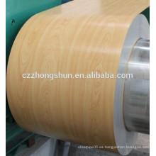 Láminas recubiertas de color / bobinas laminadas en frío / galvanizadas / galvalume / color de alta intensidad