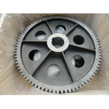 Peças novas da carcaça de areia da roda de engrenagem com fabricante de aço