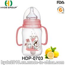 Botella popular del alimentador de BPA del bebé al por mayor (HDP-0703)