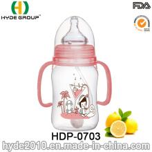 Atacado Popular Bebê BPA Free Feeder Bottle (HDP-0703)